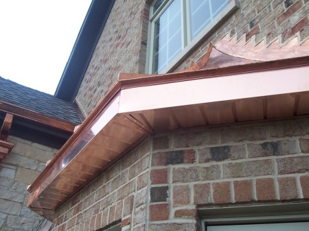 Bay Windows Illinois Custom Copper