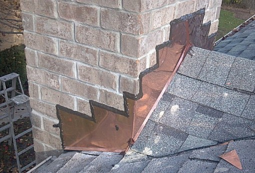 Wall Flashings Amp Roof Dead Pans Illinois Custom Copper