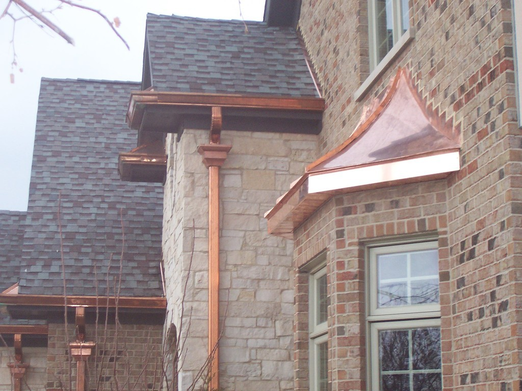 Copper Roof Gutters And Downspouts Best Roof 2017