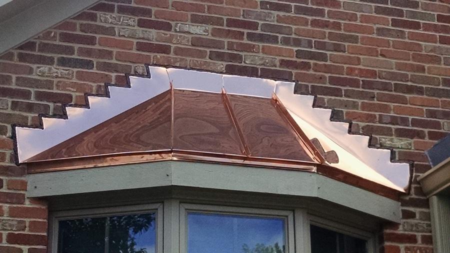 Bay Windows Illinois Custom Copper